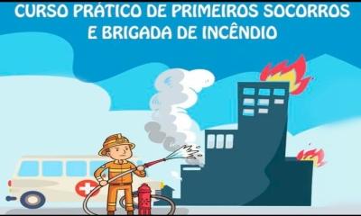 Prefeitura Municipal de Ponte Branca firma parceria com Núcleo de Bombeiros para realização do Curso de Brigadista Básico e Primeiros Socorros Básico